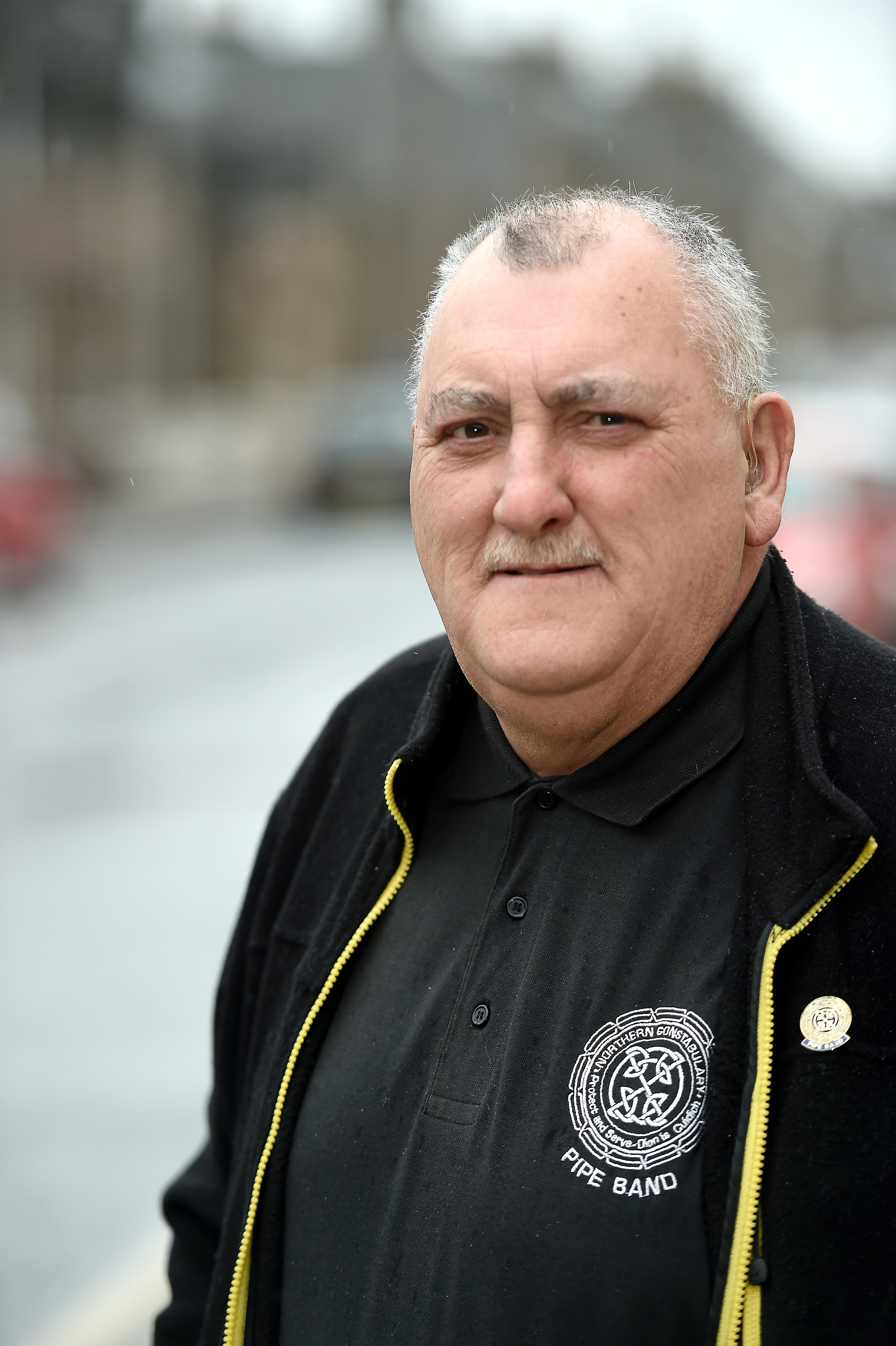 Former policeman Dave Connor who would like to see some Inverness streets named after emergency service workers who have died in the line of duty. Picture by Sandy McCook