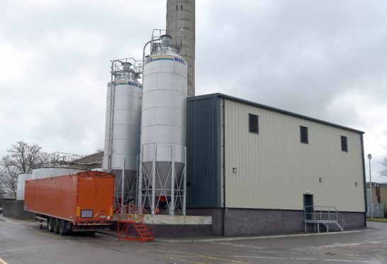 The biomass power plant at Raigmore Hospital, Inverness which is still not back in operation following an explosion in March 2015.