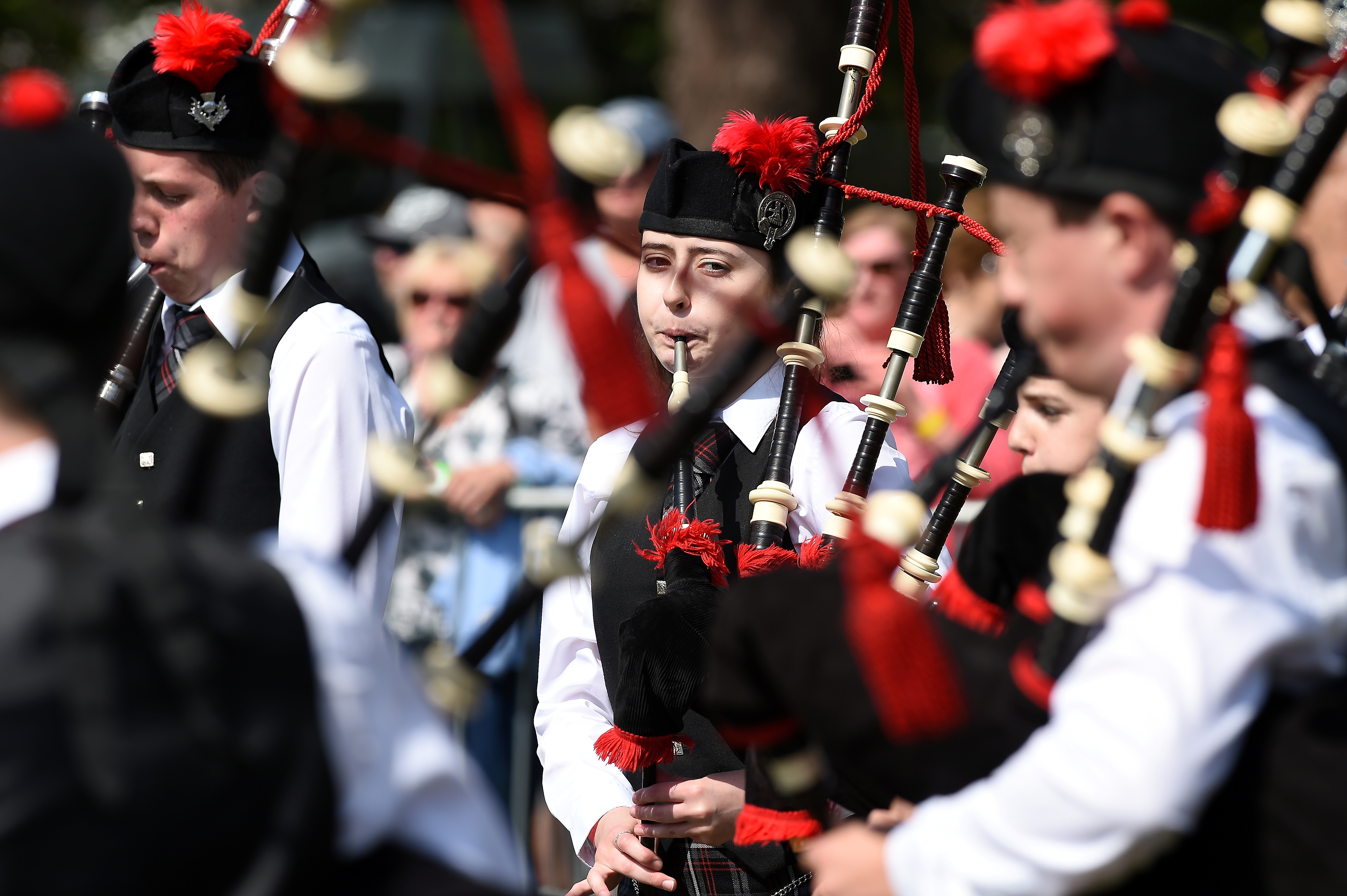 The European Pipe Band Championships held in Forres.