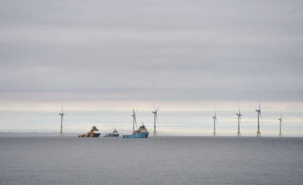 Aberdeen Bay windfarm