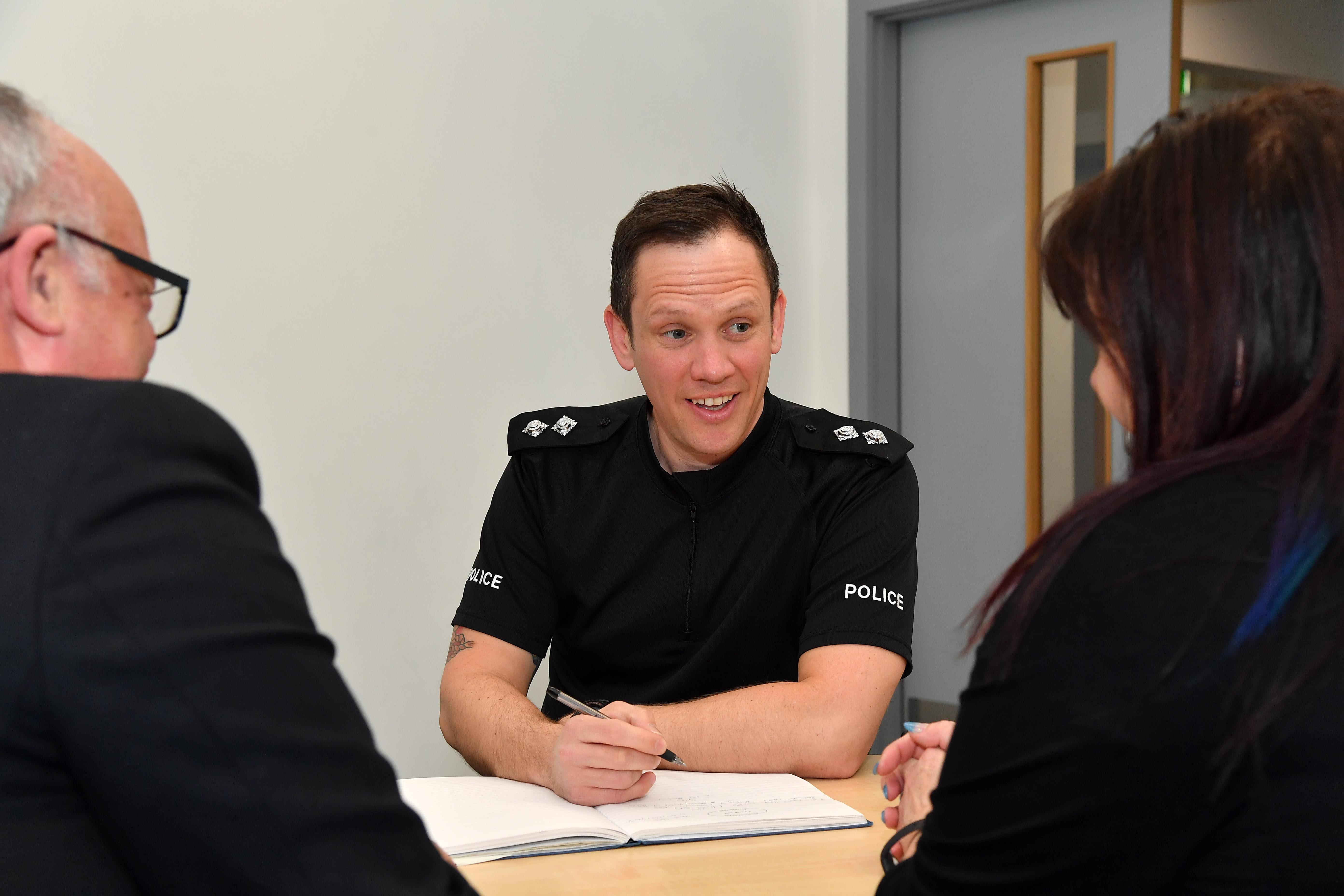 Inspector Andy Scott