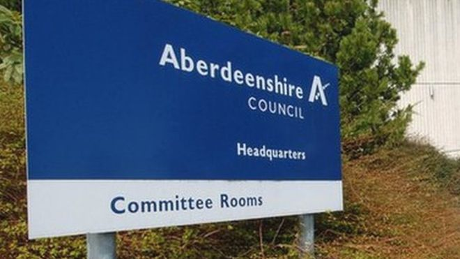 Aberdeenshire Council has been asked to return £450,000.