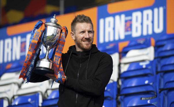 Ross County midfielder Michael Gardyne.