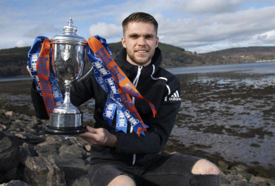 Marcus Fraser could lift the IRN-BRU Cup as captain today.