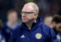 Scotland manager Alex McLeish.