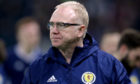 Former Scotland manager Alex McLeish.