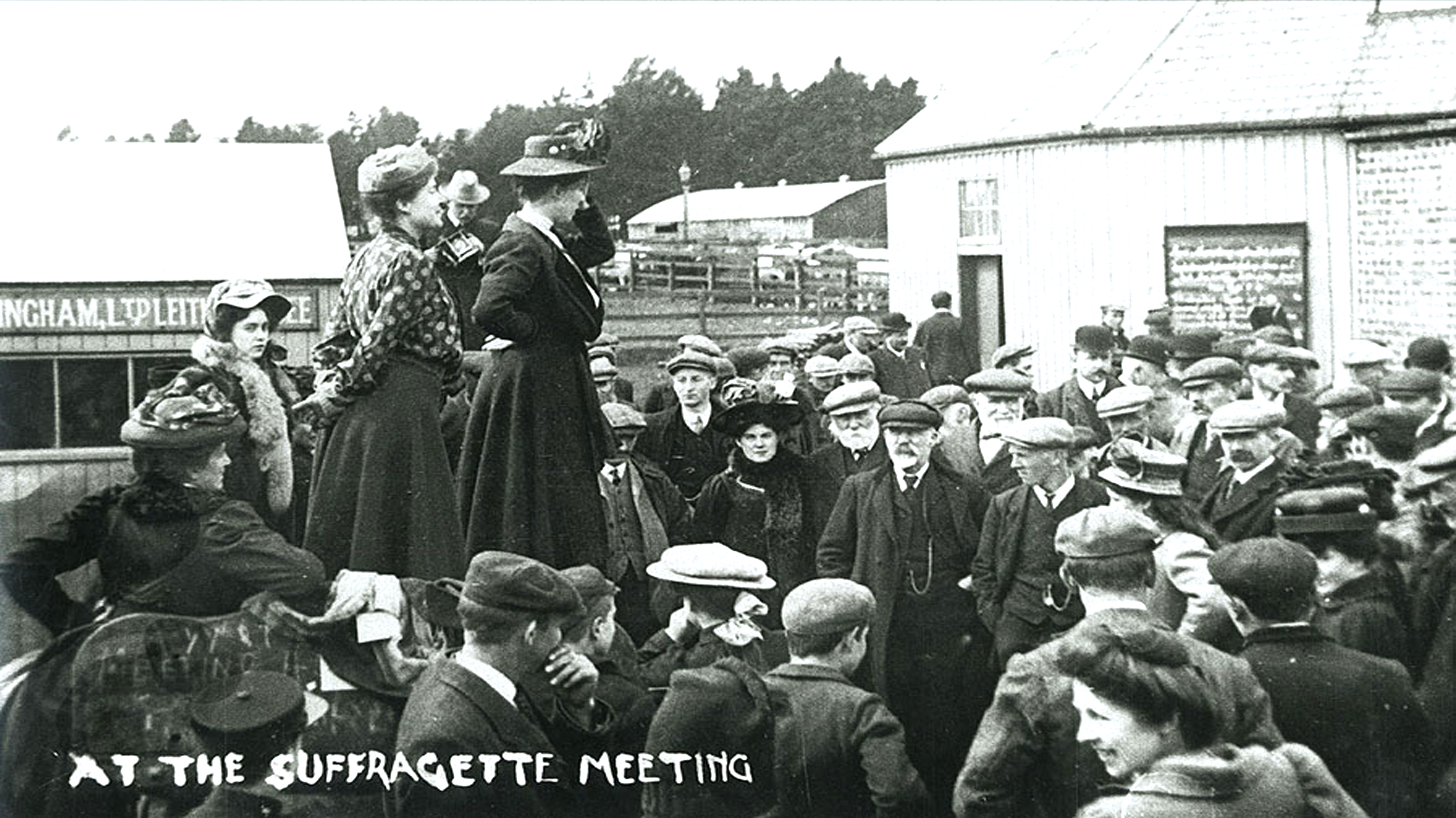 Caroline Phillips from Kintore was one of the leading Scottish suffragettes.