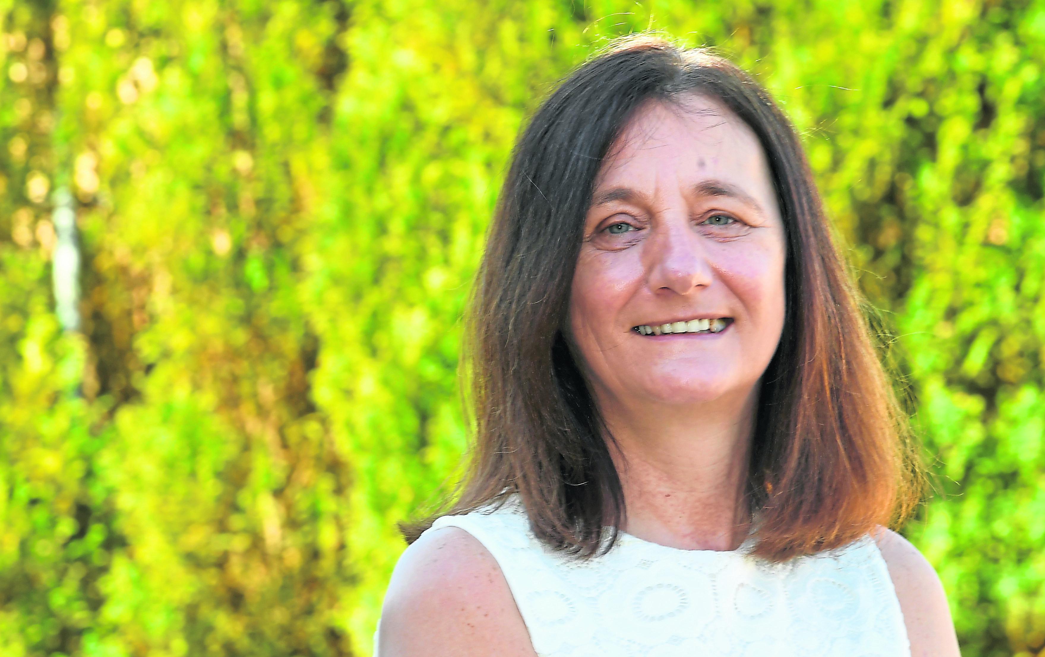Heather Singer from Portlethen.
