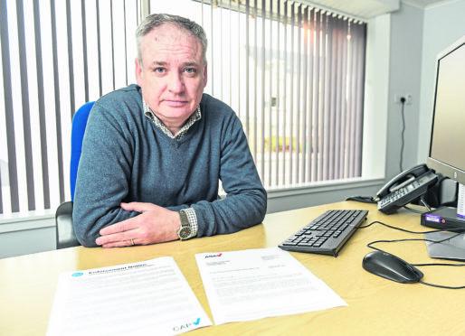 MSP Richard Lochhead.