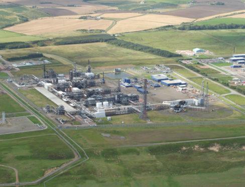 Shell St Fergus Gas Plant