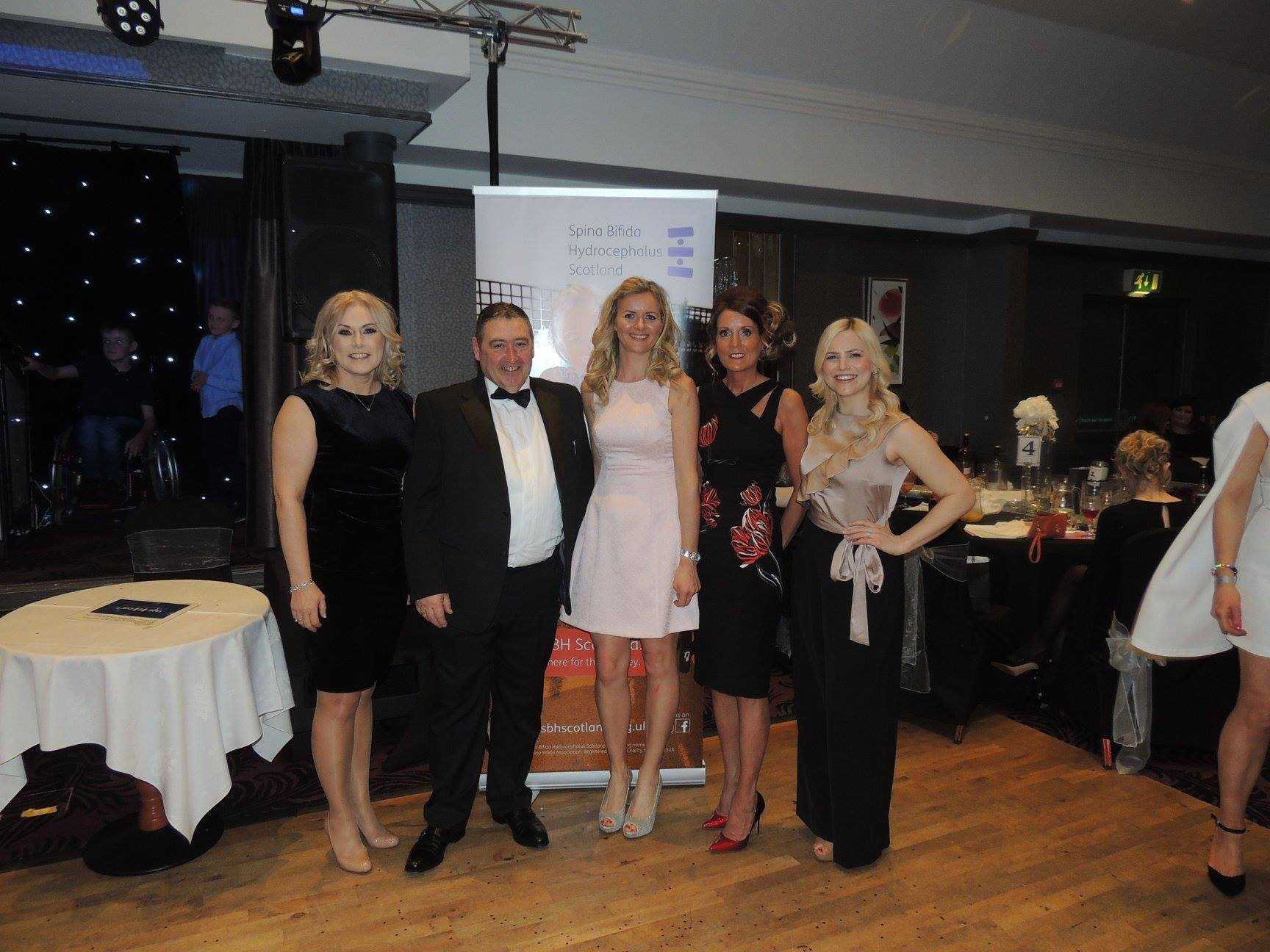 Organisers and host of the Shimmer and Sparkle ladies' lunch with Susie Mathers