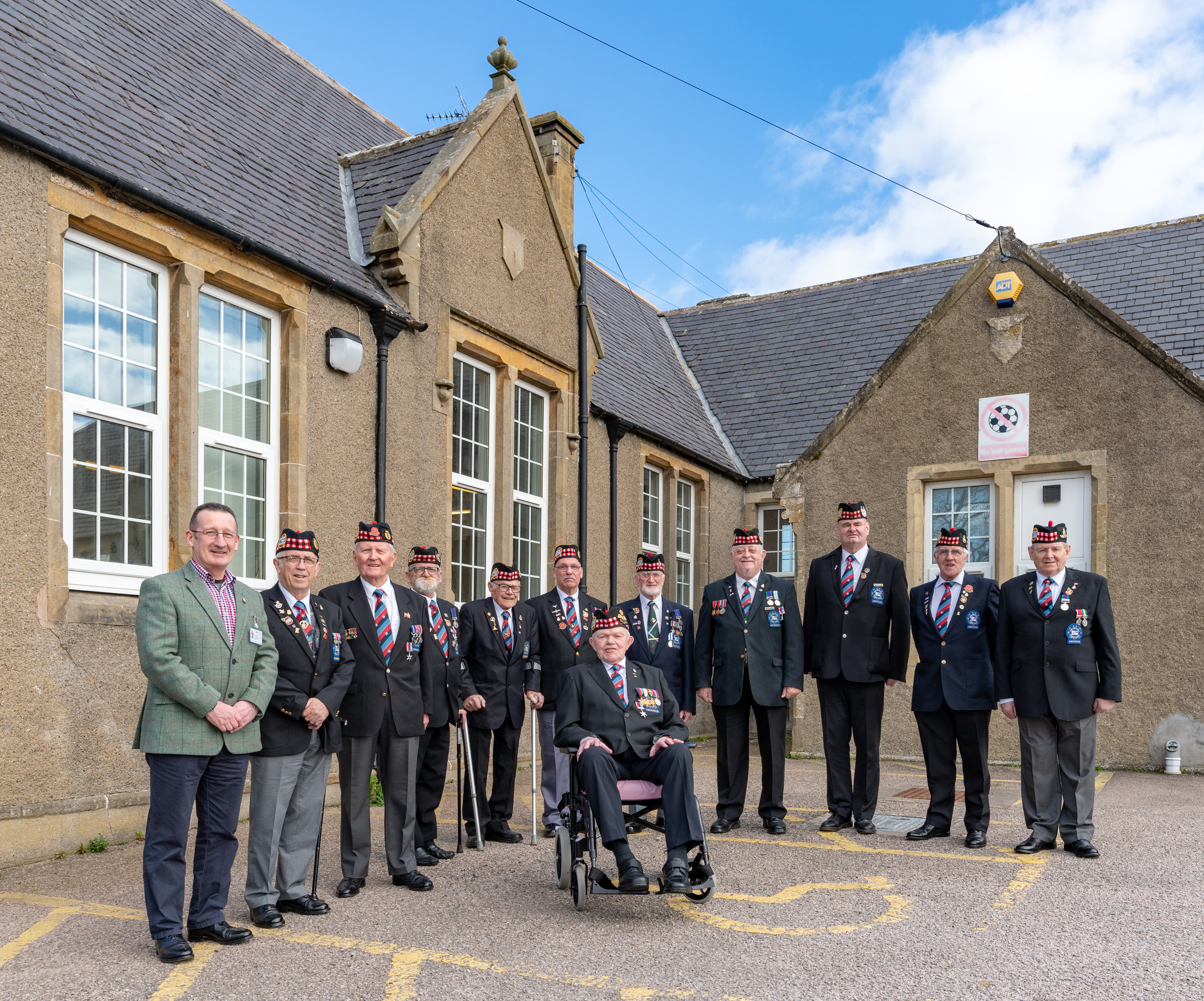 This is from the North East War Veterans Brunch meeting at Cullen Community Centre, Moray, Scotland on Sunday 31 March 2019. Photographed by JASPERIMAGE ©. PICTURE CONTENT:-