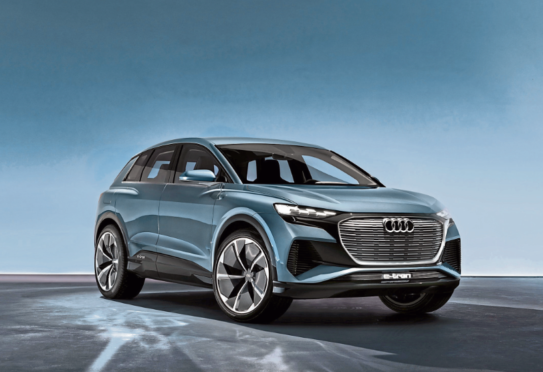 The new model was unveiled at the Geneva Motor Show