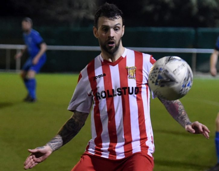McGowan still had a year left on his Formartine United deal