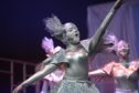 One of the Peterhead participants from a previous Rock Challenge performance