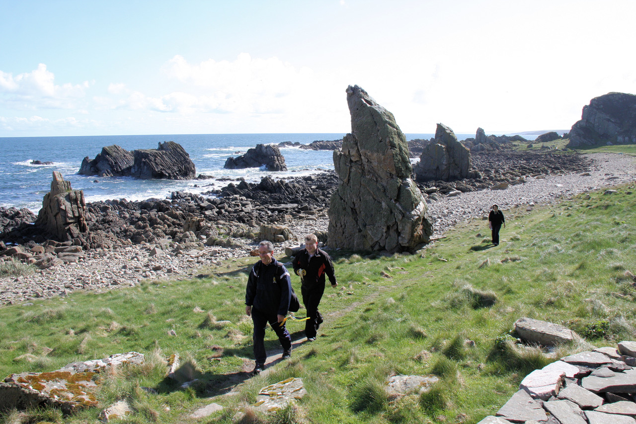 Visit Mearns want to restore the coastal trail.