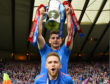 Aaron Doran, top, lifted the Scottish Cup with Inverness in 2015.