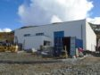 Gairloch Museum was nearly ready in April