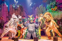 Madagascar review picspics by Scott Rylander, handed out by the theatre company.