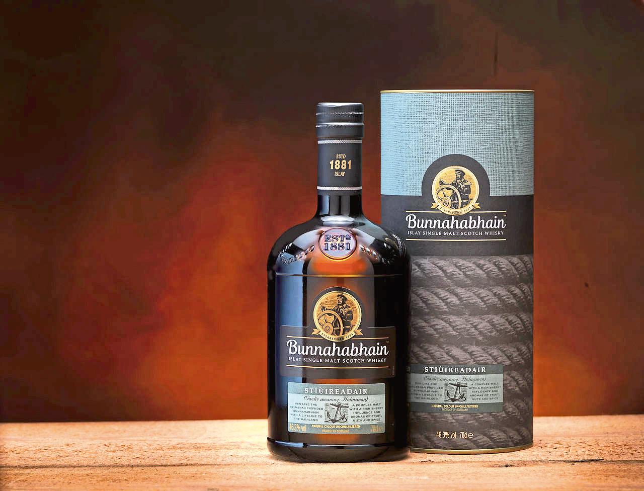 Bunnahabhain Stiùireadair whisky.
