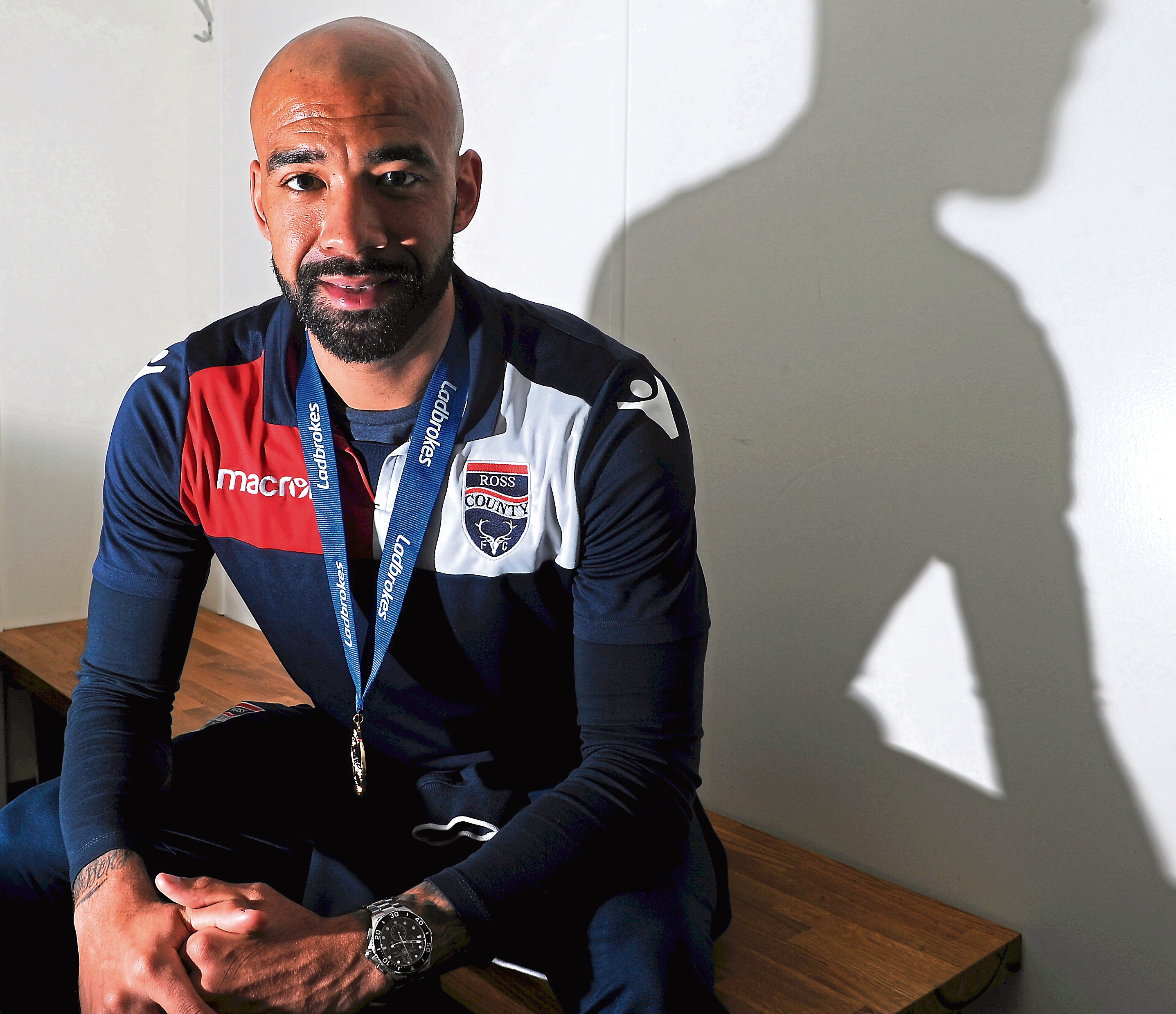Player Liam Fontaine. Picture by Sandy McCook.