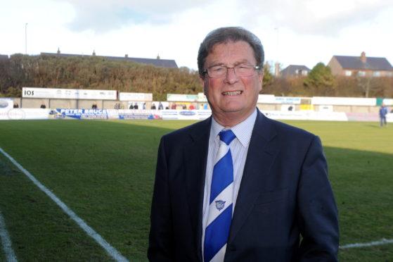 Peterhead chairman Rodger Morrison.