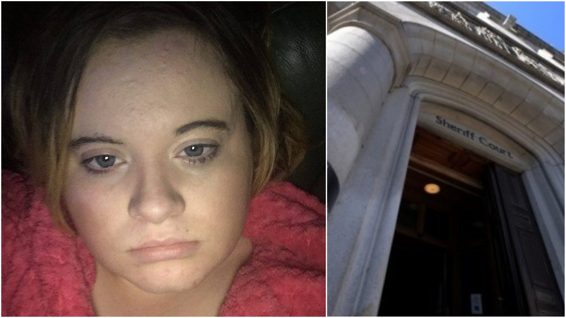 Abbie Will appeared at Aberdeen Sheriff Court.