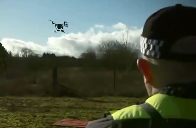 Police are already using drones to combat crime