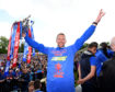 31/05/15 INVERNESS ICT keeper Ryan Esson celebrates with the Scottish Cup