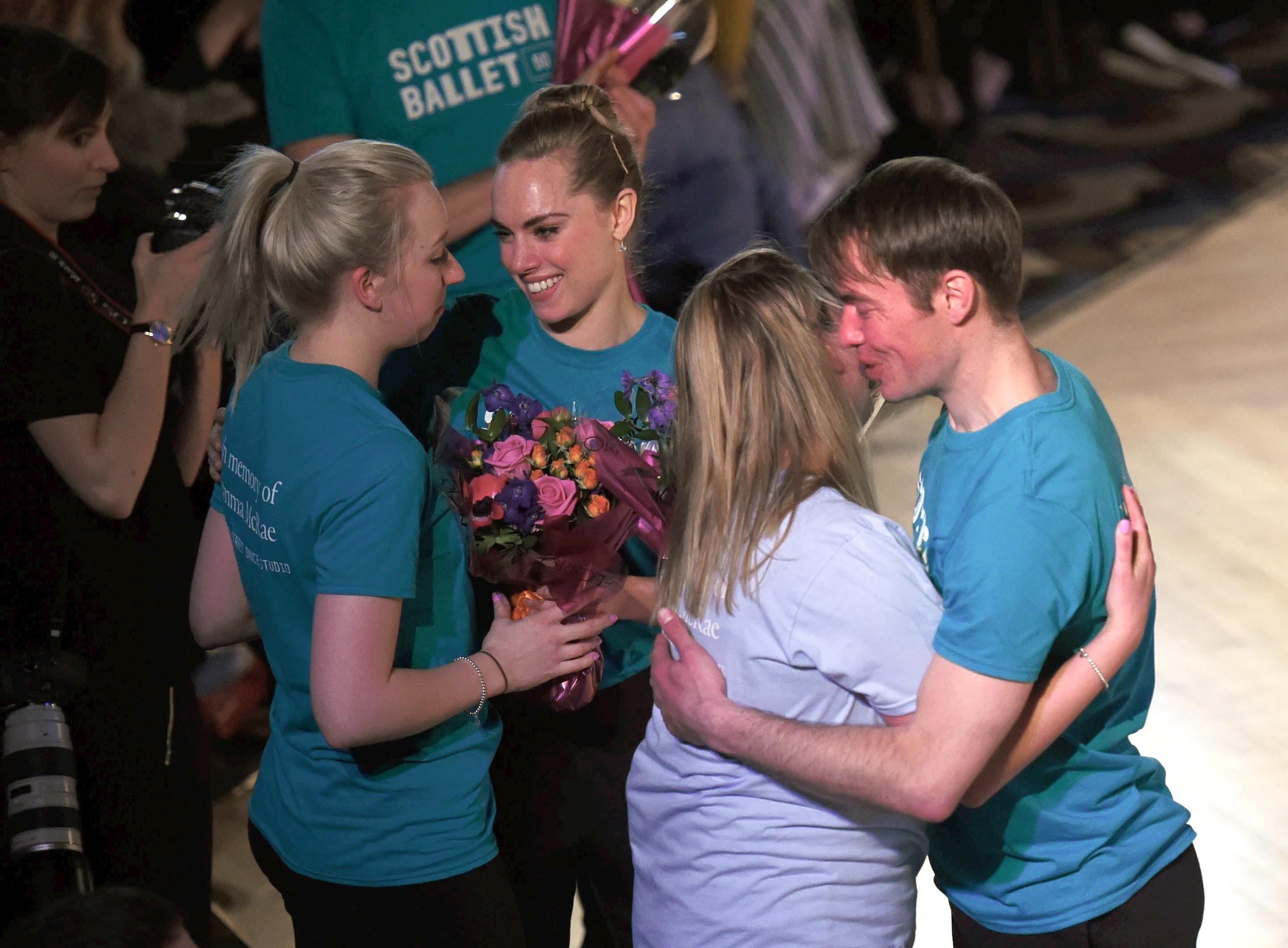 Academy Street Dance Studio having their wish granted.