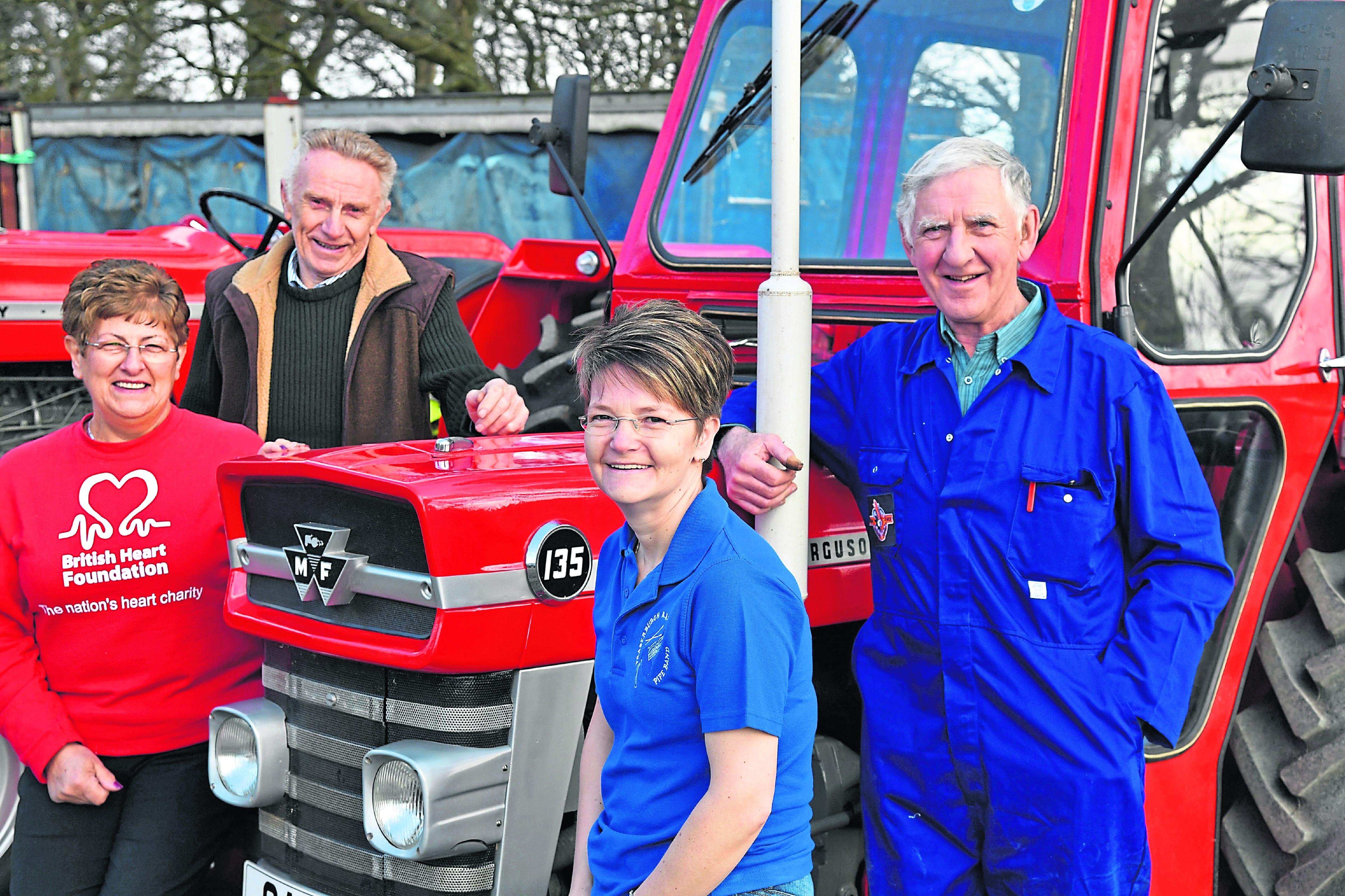 Liz Inglis, John Mutch, Denise Buchan, Bill Ironside.