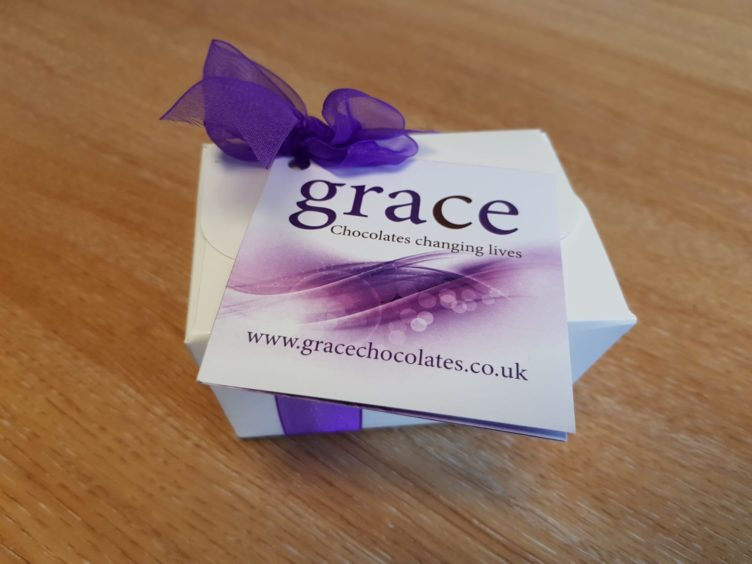Female prisoners have joined a chocolate-making initiative in Stirling.