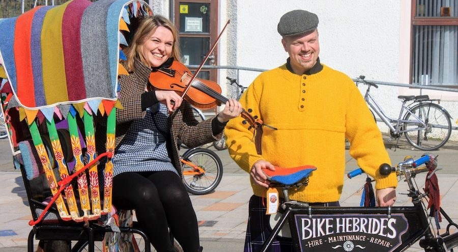 The Harris Tweed Bike Ride will take place on Saturday for its fourth year.
