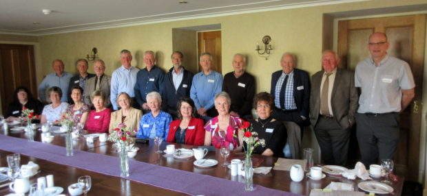Construction staff involved in the building of the Cromarty bridge came together to mark its 40th anniversary.