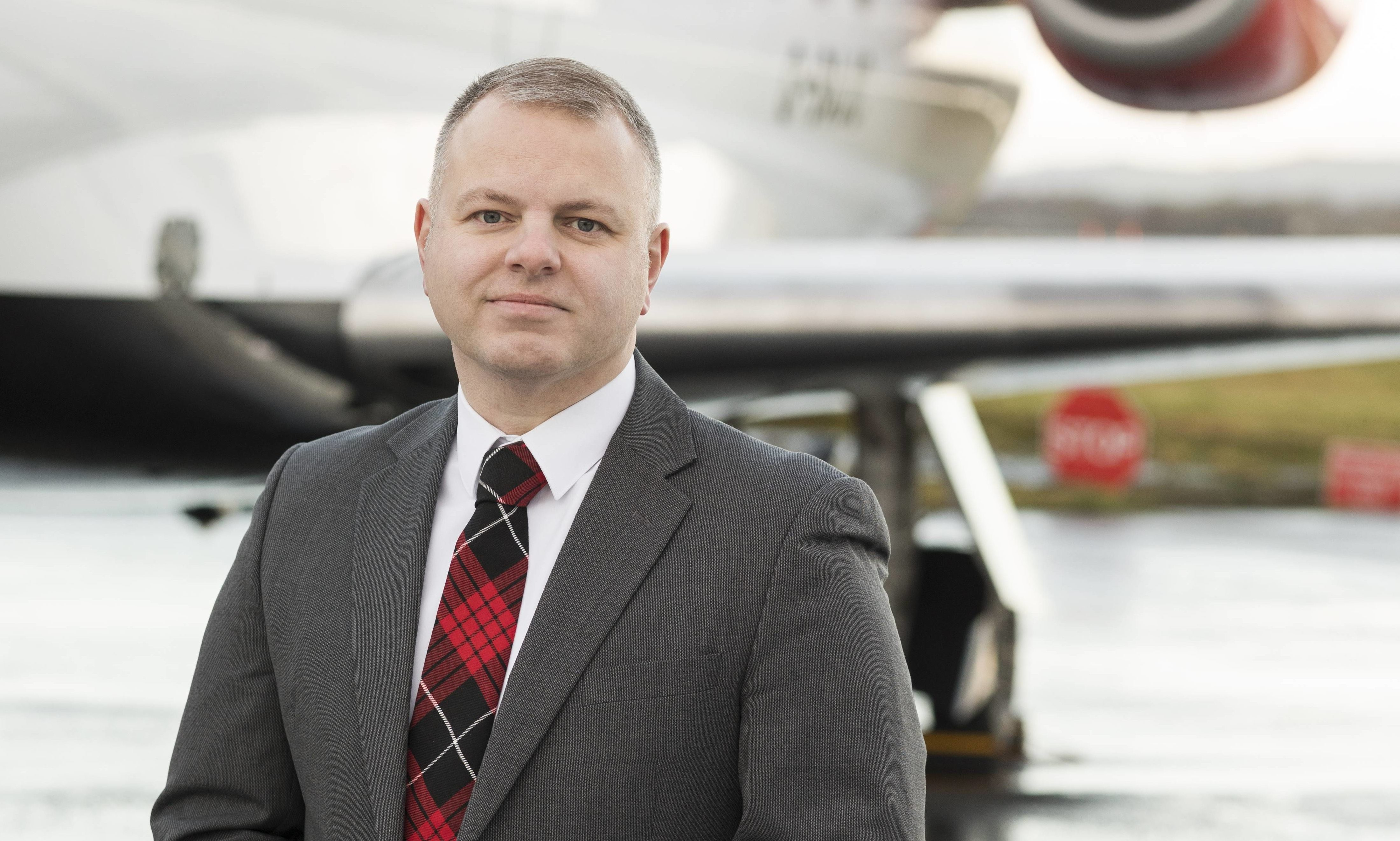 Jonathan Hinkle of Loganair has asked for government help