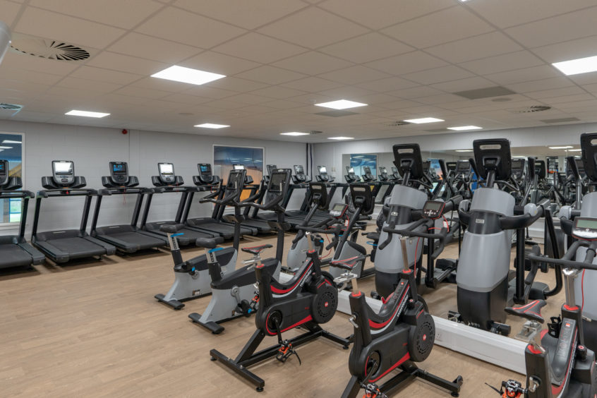 The new Gym and equipment At Moray Leisure Centre: JASPERIMAGE