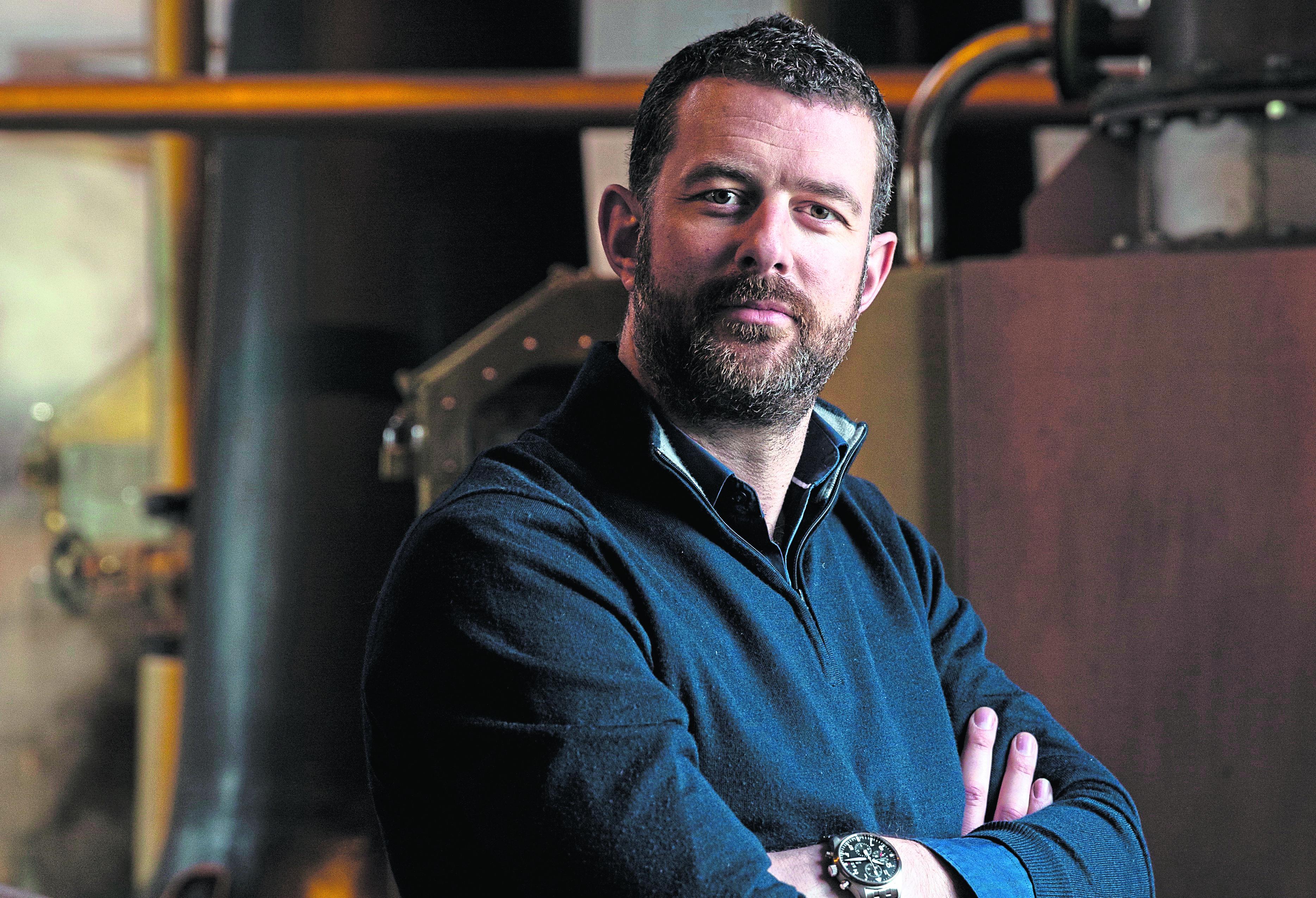 Bruichladdich Distillery CEO Douglas Taylor.