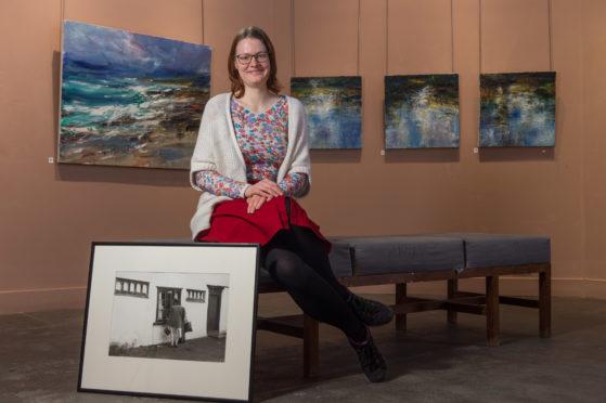Anna Stoltzman, creative development officer, at Moray Arts Centre.