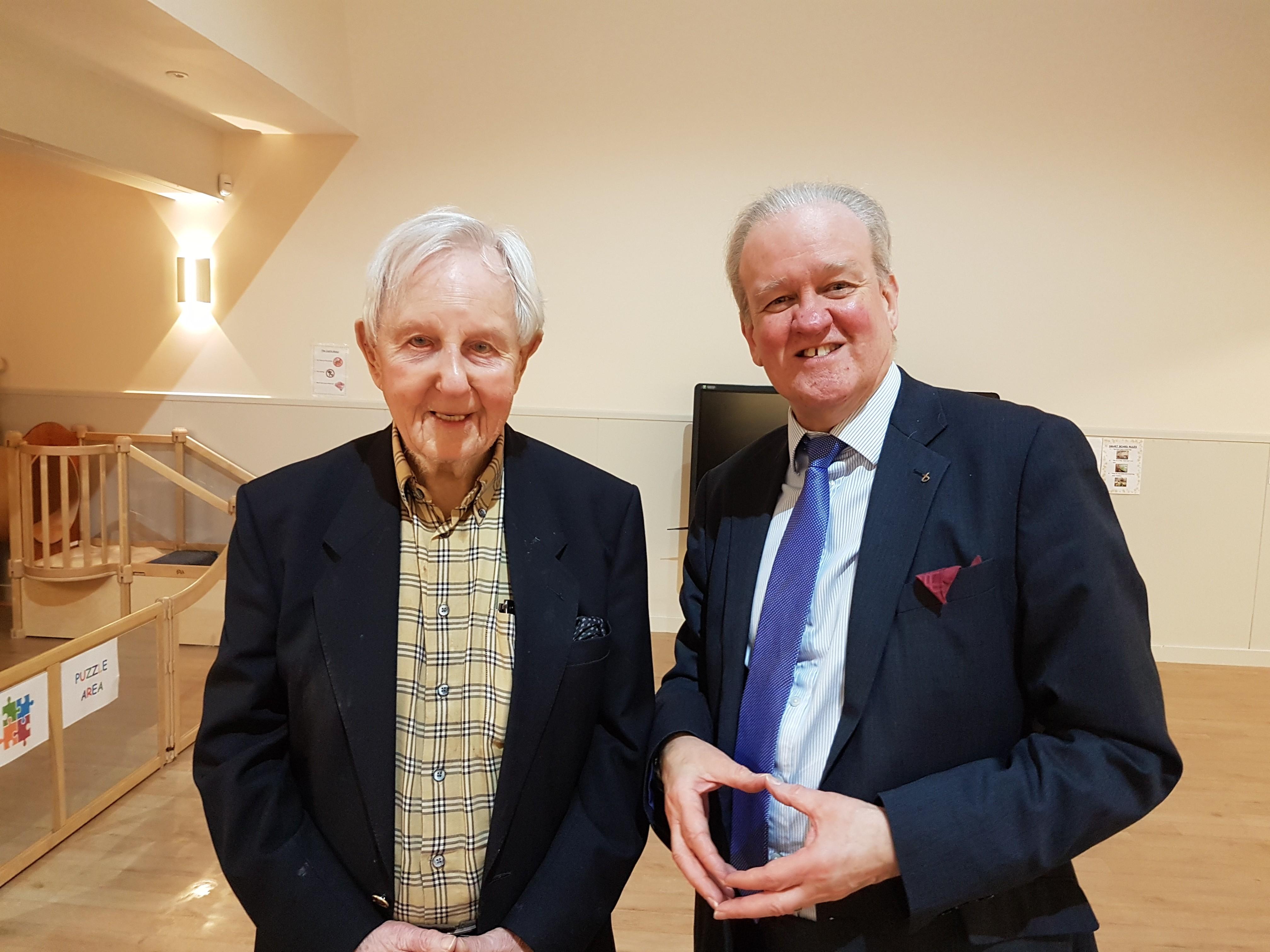 Norman Allan and Stewart Stevenson