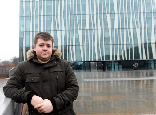 Mark Johnston claims the device was stolen from the library at Aberdeen University.