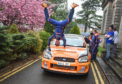 Driver John Armstrong (AKA Jock) is head over heels about his performance