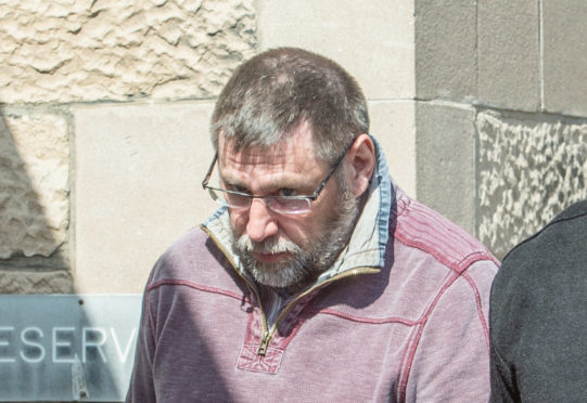 Stephen Moncrieff pictured leaving court