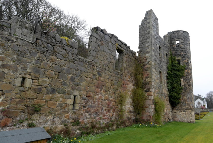 Ellon Castle is on the road to being fully restored.