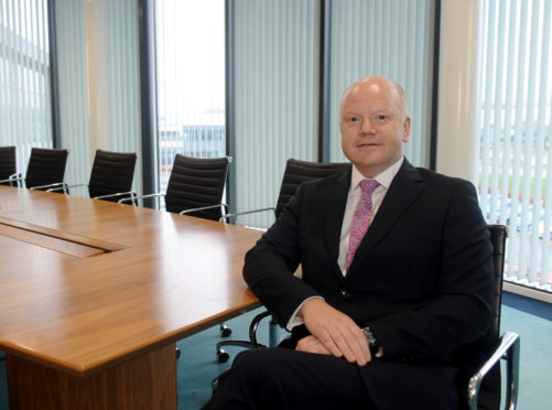 Asco CEO Peter France pictured in the boardroom. Picture by Kath Flannery