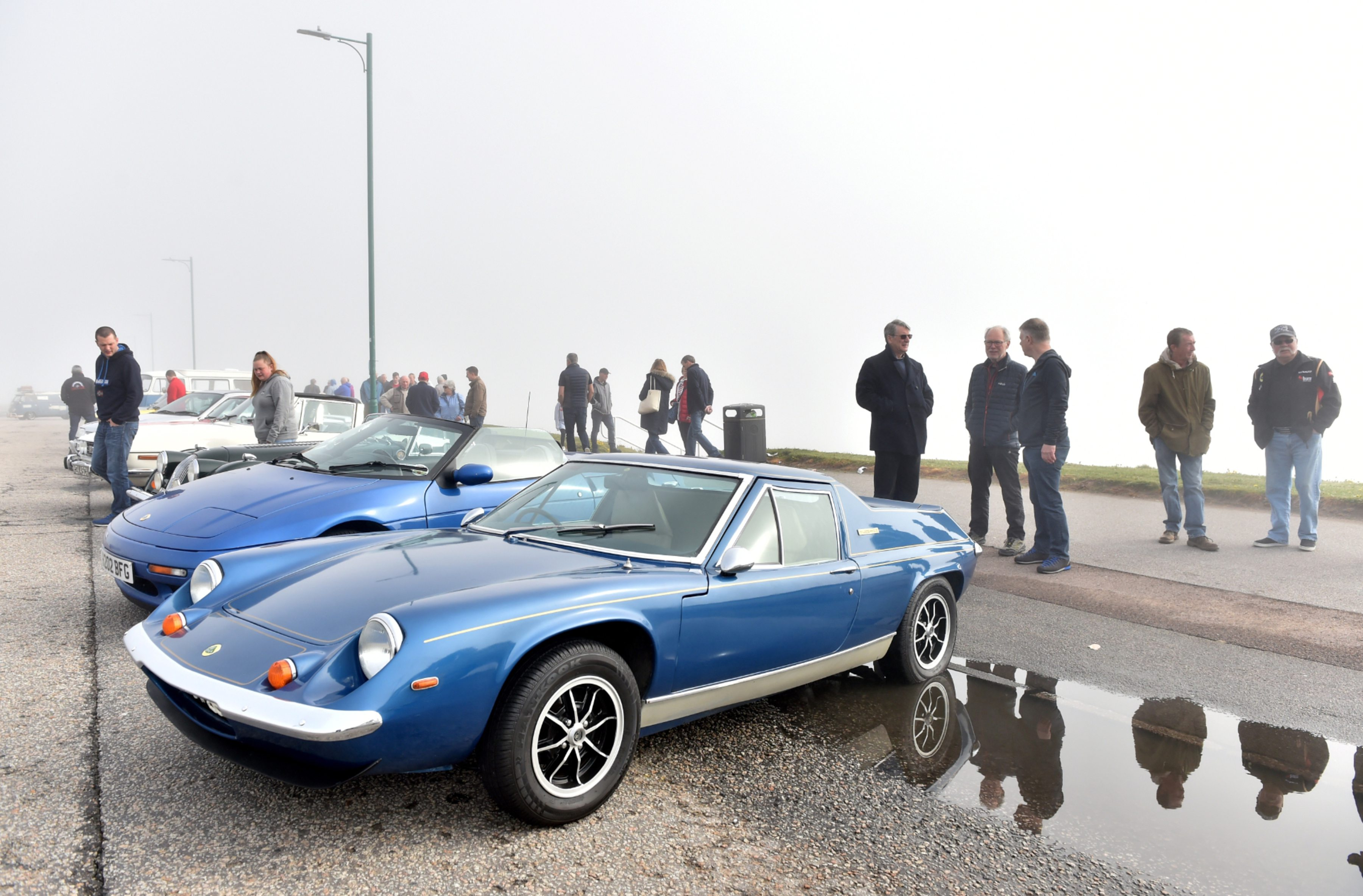 More than 150 cars took part in this year's north-east event. Pictures by Scott Baxter