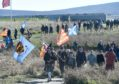 The annual commemorative service to mark the Battle of Culloden.