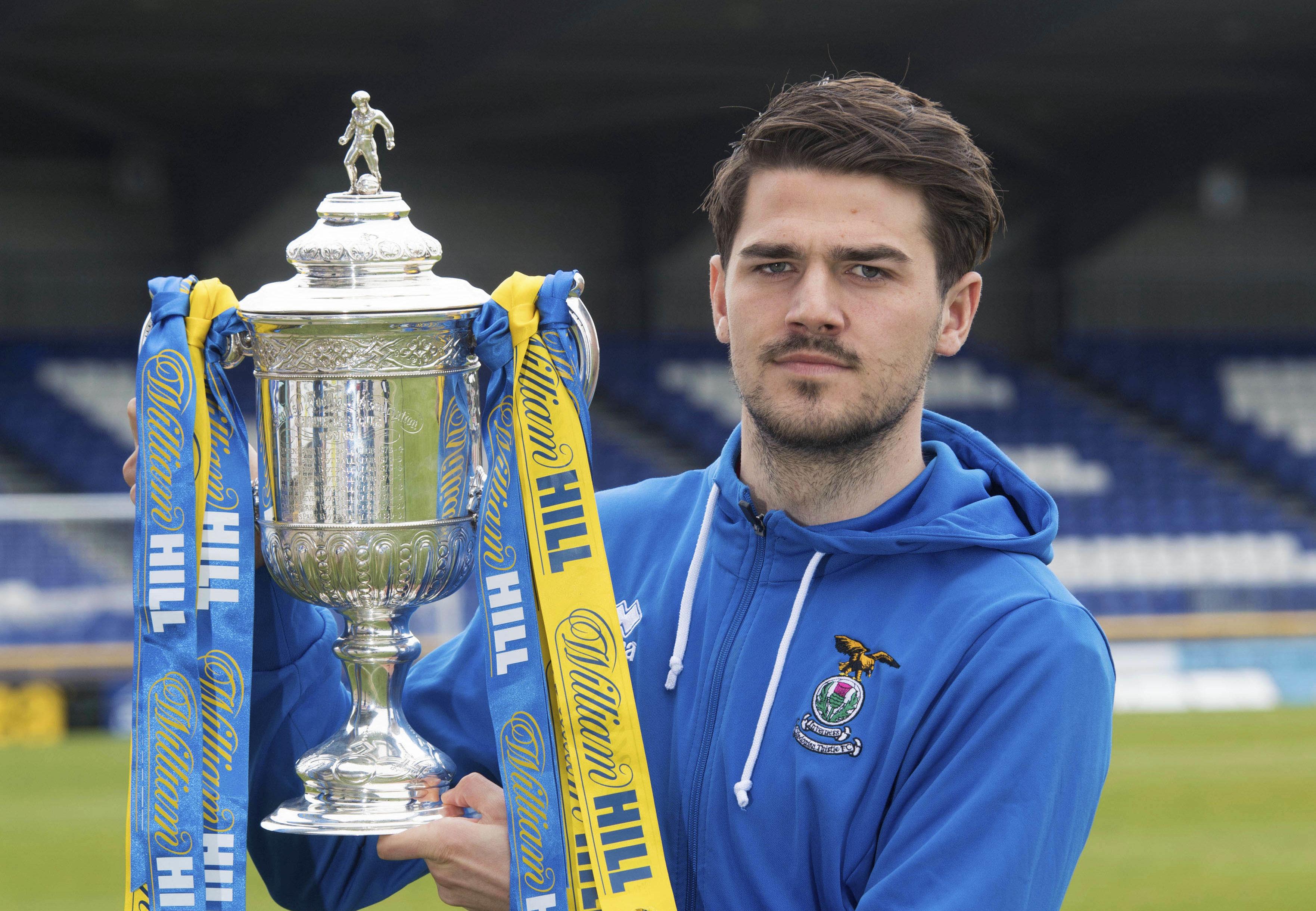 Inverness' Charlie Trafford.