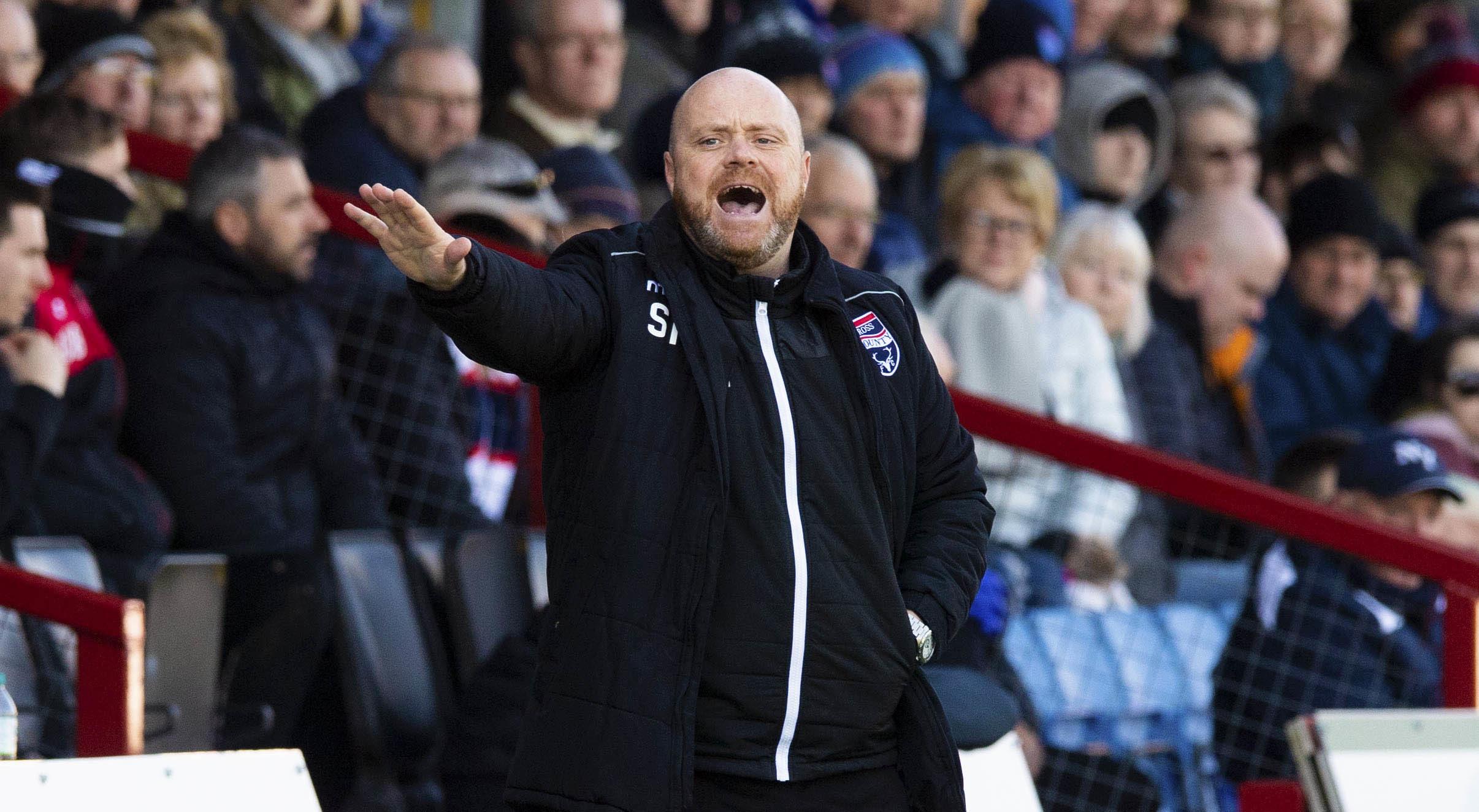 Ross County co-manager Steven Ferguson.