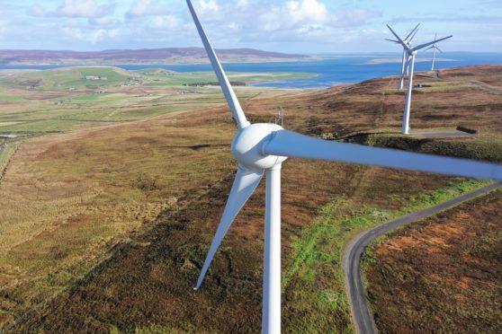Generic photograph of a wind turbine