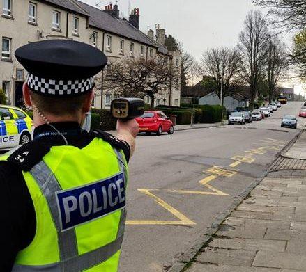 Police catch speeding motorists